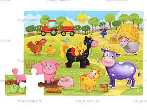 Мягкие пазлы «Ферма», VT1102-14, отзывы