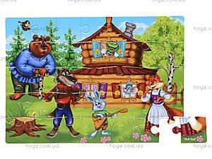Мягкие пазлы «Сказки. Теремок», VT1102-15, купить