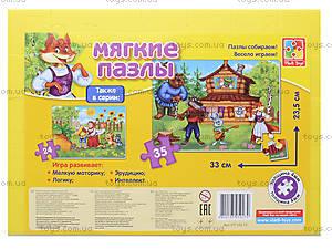 Мягкие пазлы «Сказки. Теремок», VT1102-15, цена