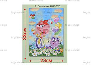 Мягкие пазлы А4 «Смешарики», VT1105-0910, фото