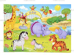 Мягкие пазлы «Зоопарк», VT1102-13, отзывы