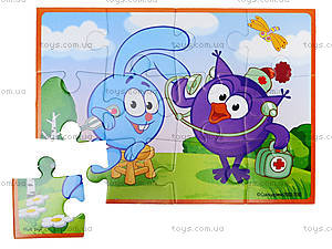 Мягкие пазлы А5 детские «Смешарики», VT1103-37, отзывы