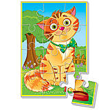 Мягкие пазлы А5 «Любимцы. Кот», VT1103-52, toys