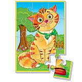 Мягкие пазлы А5 «Любимцы. Кот», VT1103-52, фото