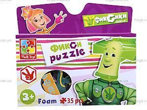 Мягкие пазлы детские А4 «Фиксики», VT1105-07, игрушки