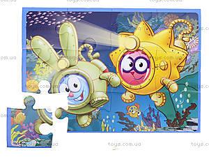 Мягкие пазлы детские А5 «Смешарики», VT1103-40, цена