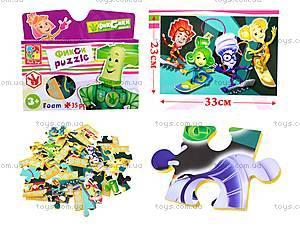 Мягкие пазлы для детей А4 «Фиксики», VT1105-05