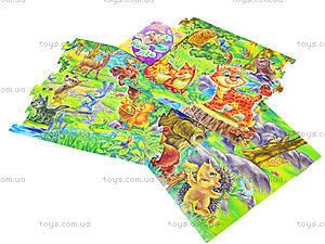 Мягкие пазлы для детей «Наш лес», А317005У4806, купить
