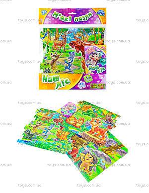 Мягкие пазлы для детей «Наш лес», А317005У4806