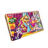 Мягкие пазлы «Королева кошка», 35 элементов, S35-09-08, фото