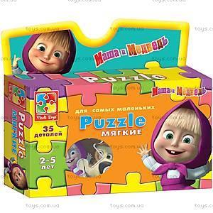 Мягкие пазлы «Маша на плече», VT1105-03, детские игрушки