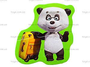 Мягкие пазлы «Медведь и Любимые герои», 3197, купить
