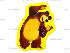 Мягкие пазлы «Медведь и Любимые герои», 3197, фото