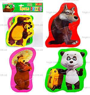 Мягкие пазлы «Медведь и Любимые герои», 3197