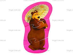 Мягкие пазлы «Медведь и Любимые герои», 3197, цена