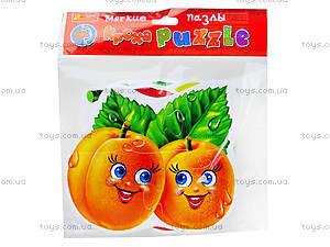Мягкие пазлы «Овощи и фрукты», 3196, отзывы