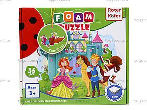 Мягкие пазлы «Принцессы», RK1202-06, игрушки