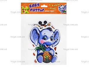 Мягкие пазлы «В жаркой Африке», М414001Р, іграшки