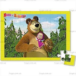 Детские мягкие пазлы «Маша и Медведь», А4, VT1104-14...17, купить