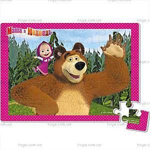 Детские мягкие пазлы «Маша и Медведь», А4, VT1104-14...17, цена