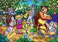 Мягкие пазлы «Веселый концерт в лесу», S20-07-04