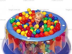 Мягкие шарики 80 мм, 60 штук,