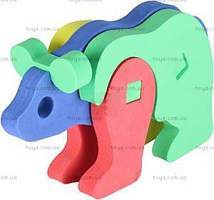 Мягкий 3D пазл «Медведь», 307