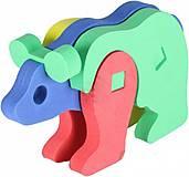 Мягкий 3D пазл «Медведь», 307, набор