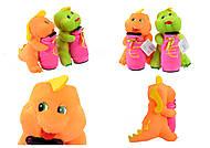 Мягкий дракончик, с копилкой, SP72177, детские игрушки