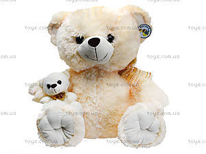 Мягкий медведь, с медвежонком, 313155, отзывы