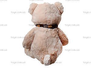 Мягкий медведь, с шарфом, 120260 молоч, купить