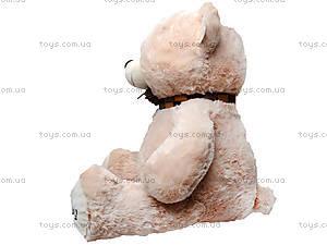 Мягкий медведь, с шарфом, 120260 молоч, отзывы