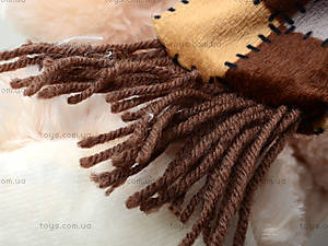 Мягкий медведь, с шарфом, 120260 молоч, toys.com.ua