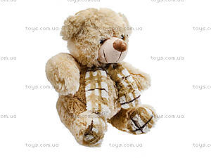 Мягкий медвежонок с шарфом для детей, S-YZ-403630SK, фото