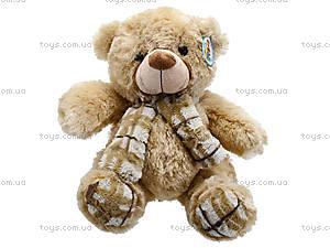 Мягкий медвежонок с шарфом для детей, S-YZ-403630SK, отзывы