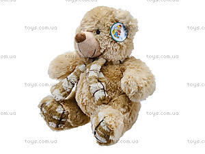 Мягкий медвежонок с шарфом для детей, S-YZ-403630SK, цена