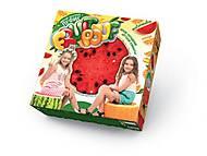 Мягкий надувной пуфик в форме фруктов, , фото