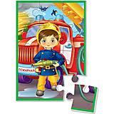 Мягкий пазл «Мальчик-пожарный», VT1103-13, купить