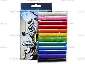 Мягкий пластилин Kite Max Steel, 12 цветов, MX14-086K, фото