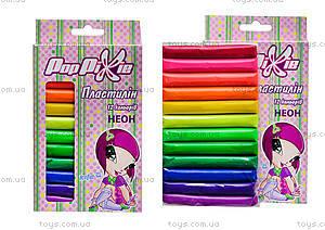Мягкий пластилин Kite Pop Pixie, 12 цветов, PP13-086K