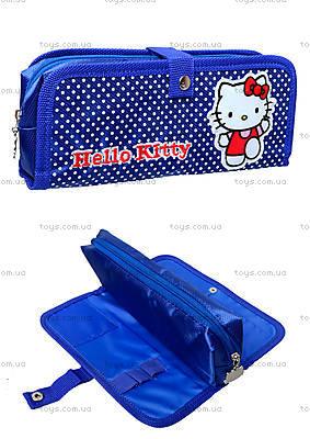 Мягкий школьный пенал Hello Kitty, HK14-648K