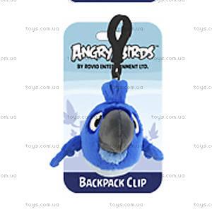 Брелок на рюкзак Angry Birds Rio «Синяя птичка», 92504