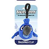 Брелок на рюкзак Angry Birds Rio «Синяя птичка», 92504, интернет магазин22 игрушки Украина
