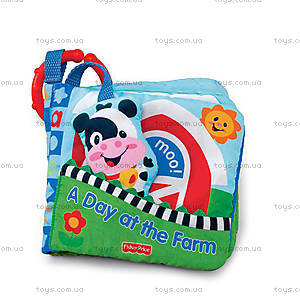 Мягкая подвеска-книжечка «День на ферме», M4060, отзывы
