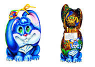 Книжка-игрушка «Про зайчат», М512006У, купить