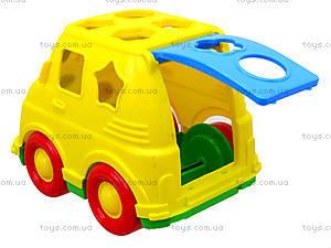 Детский микроавтобус-сортер, 195, купить
