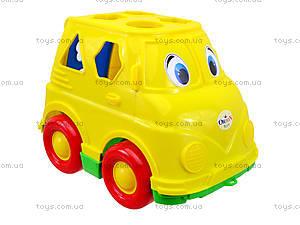 Детский микроавтобус-сортер, 195, отзывы