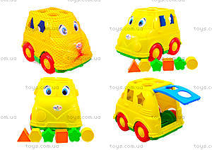 Детский микроавтобус - сортер, 195