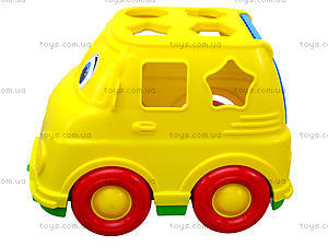 Детский микроавтобус-сортер, 195, цена