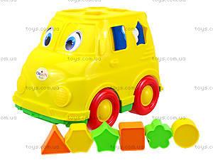 Детский микроавтобус - сортер, 195, игрушки